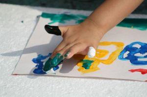 Capa - Pintura e dedo